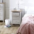 Grey Bedroom Furniture, Wardrobe, Chest of Drawers & Pair of Bedside Tables - Devon Range