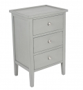 Grey Bedside Table