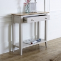 Grey Console Table - Devon Range