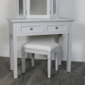 Grey Console/Dressing Table - Daventry Dove-Grey Range SECONDS ITEM