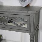Grey Mirrored Console Table – Vienna Range