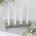 Grey Vintage Candle Tray