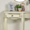 Cream Half Moon Table - Elise Cream Range