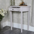 Grey Half Moon Table – Daventry Taupe-Grey Range