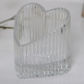 Heart Shaped Glass Ornament