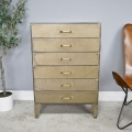 Industrial Metal Chest of Drawers