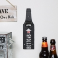 Industrial Metal Wall Bottle Opener