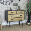 Industrial Style Chest of Drawers - Retro Range
