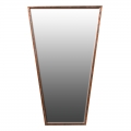 Large Art Deco Copper Wall Mirror