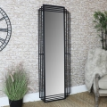 Large Art Deco Style Wall/Leaner Mirror 66cm x 183cm