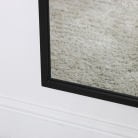 Large Black Rectangle Mirror 60cm x 140cm