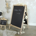 Large Free Standing Floor Blackboard on Stand