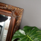 Large Gold Distressed Mirror 158cm x 79cm