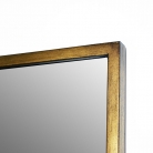 Large Gold Rectangle Mirror 60cm x 140cm