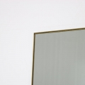 Large Gold Thin Framed Leaner Mirror 80cm x 180cm