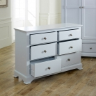Large Grey Chest of Drawers - Davenport Grey Range