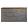 Large Grey Chest of Drawers - Westminster Range