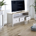 Large Grey TV Cabinet - Devon Range