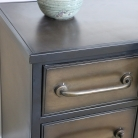 Large Industrial Metal Cabinet with Drawers