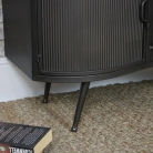 Large Metal Industrial TV/Media Cabinet