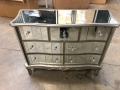 Large Mirrored Chest of Drawers - Tiffany Range IMPERFECT SECOND 6684