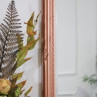 Large Ornate Copper Wall Mirror 82cm x 62cm