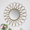 Large Ornate Gold Mirror