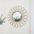 Large Ornate Gold Sunburst Wall Mirror