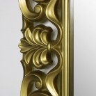 Large Ornate Gold Wall / Floor Mirror 90cm x 168cm