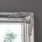 Large Ornate Silver Wall/Floor Mirror 158cm x 78cm