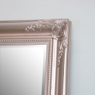 Large Rose Gold Pink Ornate Wall/Floor Mirror 78cm x 158cm