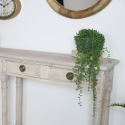 Large Rustic Console Table