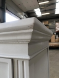 Large White 7 Drawer Chest of Drawers - Daventry White Range DAMAGED SECOND 3099