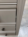 Large White Chest of Drawers - Daventry White Range - IMPERFECT SECOND 6689