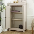 Linen Closet/Wardrobe, Chest of Drawers & Bedside Tables - Davenport Taupe-Grey Range