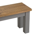 Long Grey Dining Bench - Westminster Range