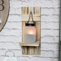 Mason Jar Tealight Holder Wall Sconce