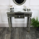 Mirrored Classique Range - One Drawer Dressing/Console Table