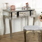 Mirrored Dressing Table and Stool - Tiffany Range