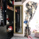 Ornate Gold Wall Mirror 47cm x 142cm