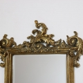 Ornate Gold Wall Mirror