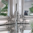 Ornate Vintage Silver Triple Dressing Table Mirror  55cm x 74cm