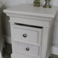 Pair of Grey 2 Drawer Bedside Chests - Daventry Range