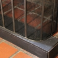 Pewter Fire Screen