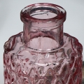 Pink Glass Bottle Vase