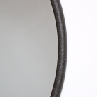 Round Metal Wall Mirror