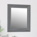 Rustic Grey Wall Mirror 48cm x 56cm