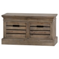 Rustic Low Chest of Drawers - Somerset Range