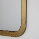 Thin Framed Gold Mirror