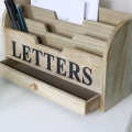 Rustic Wooden letters Rack